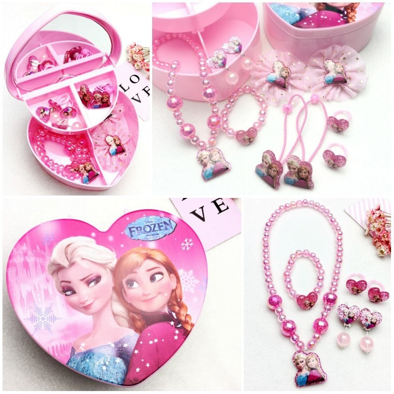 Frozen and Other Princesses Jewelry Set Box