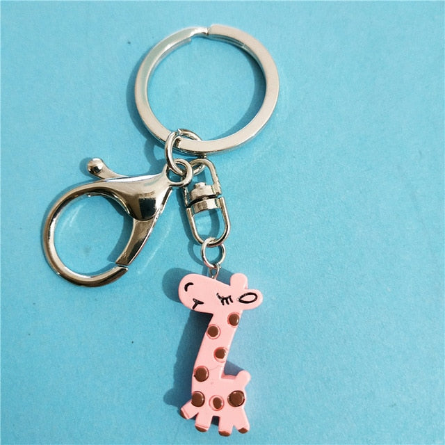 Cute 3 Pcs/lot Best Friends Forever BFF Giraffe Necklace & KeyChain Set