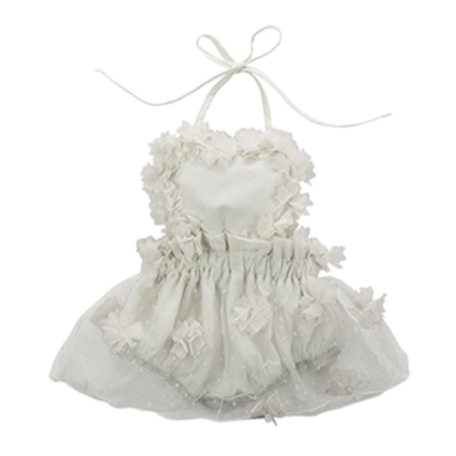 Too Adorable Floral Tulle Onesie