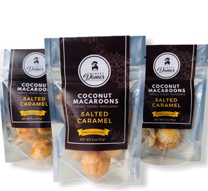 Bite Size Salted Caramel Coconut Macaroon Bundle