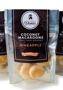 Pineapple Coconut Macaroon Bites