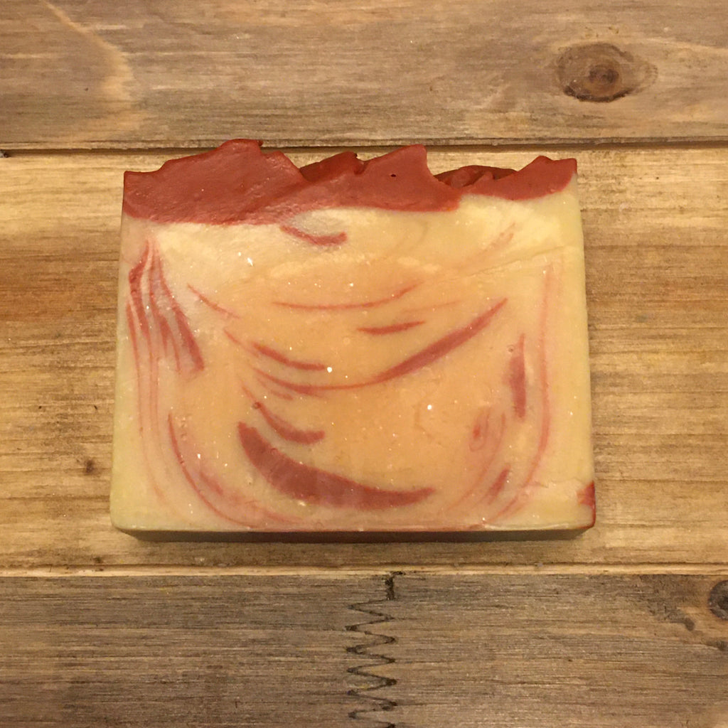 Spiced Cranberry Goat Milk Soap - LIMITED EDITION - Pheasant Creek Farms