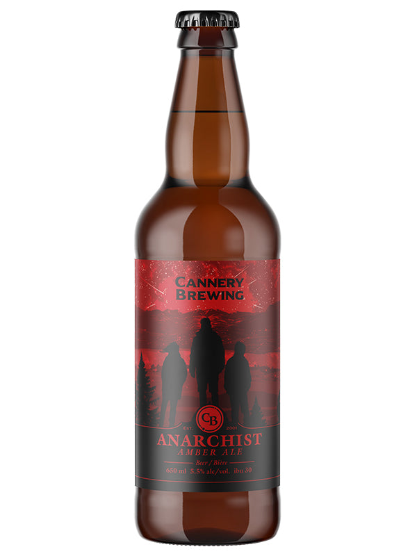 Anarchist Amber Ale 650ml