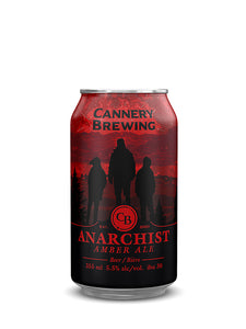 Anarchist Amber Ale 6 pack (355ml cans)