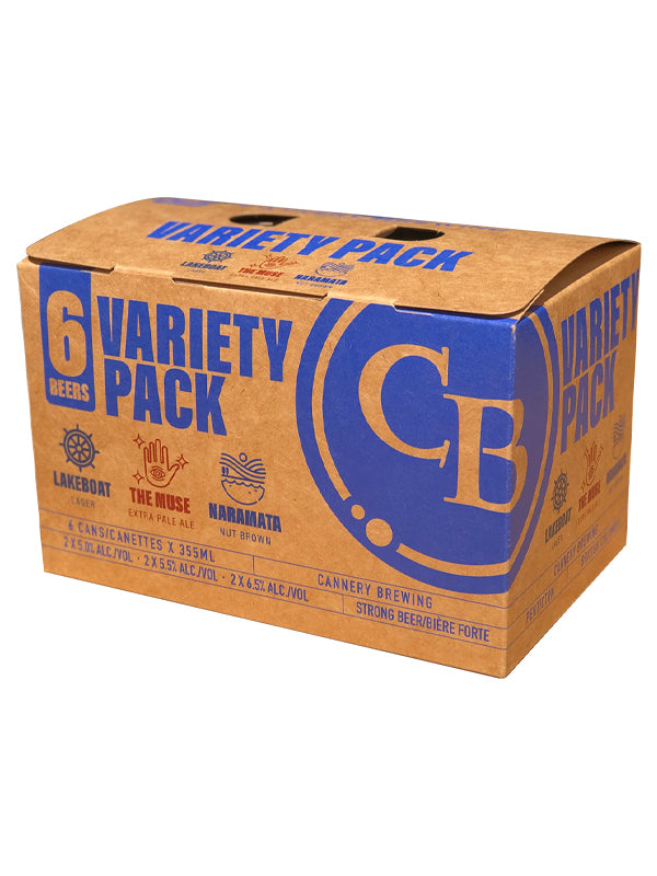 Variety Pack 6 pack (355ml cans)