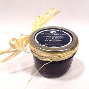 Sour Cherry and Walnut Conserve