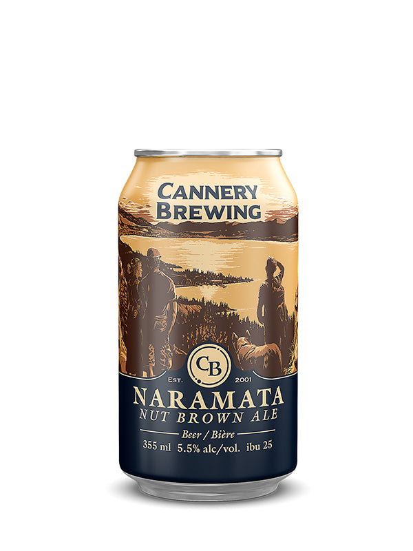 Naramata Nut Brown 6 pack (355ml cans)