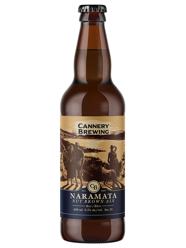 Naramata Nut Brown Ale 650ml