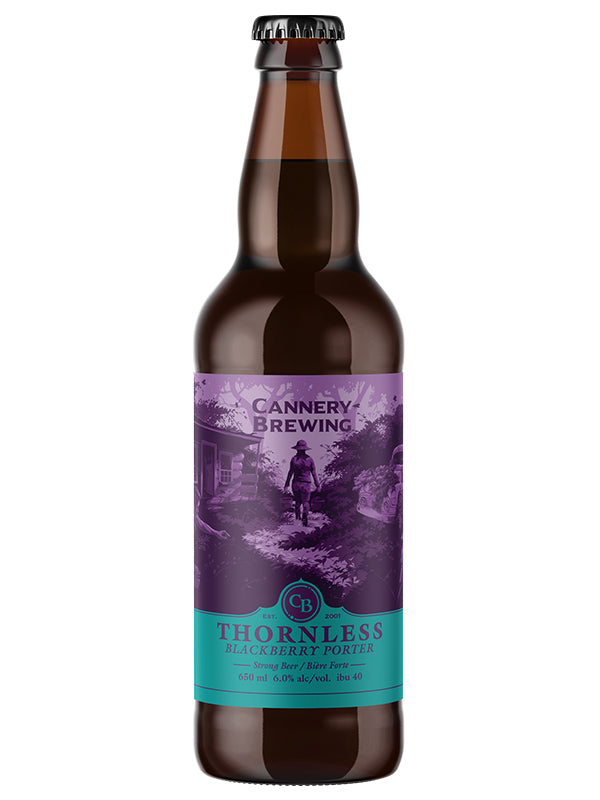 Thornless Blackberry Porter 650ml