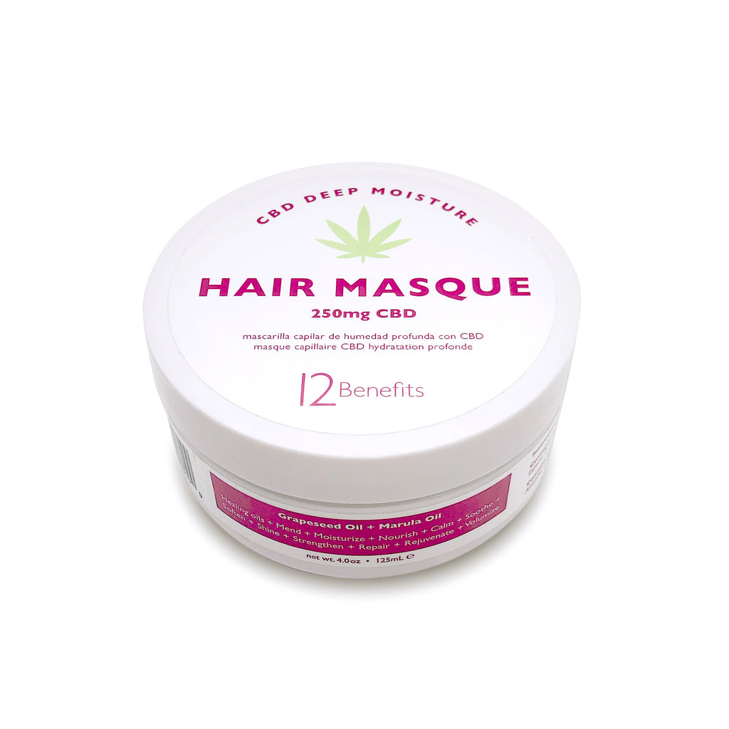 CBD Hair Masque - New!