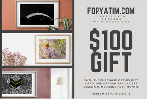 Gift Card - Photo Prints + Charity