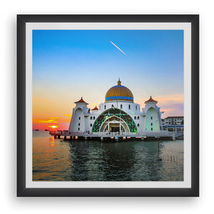 Sunset at Masjid Selat