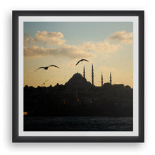 Load image into Gallery viewer, Sunset on Süleymaniye Mosque