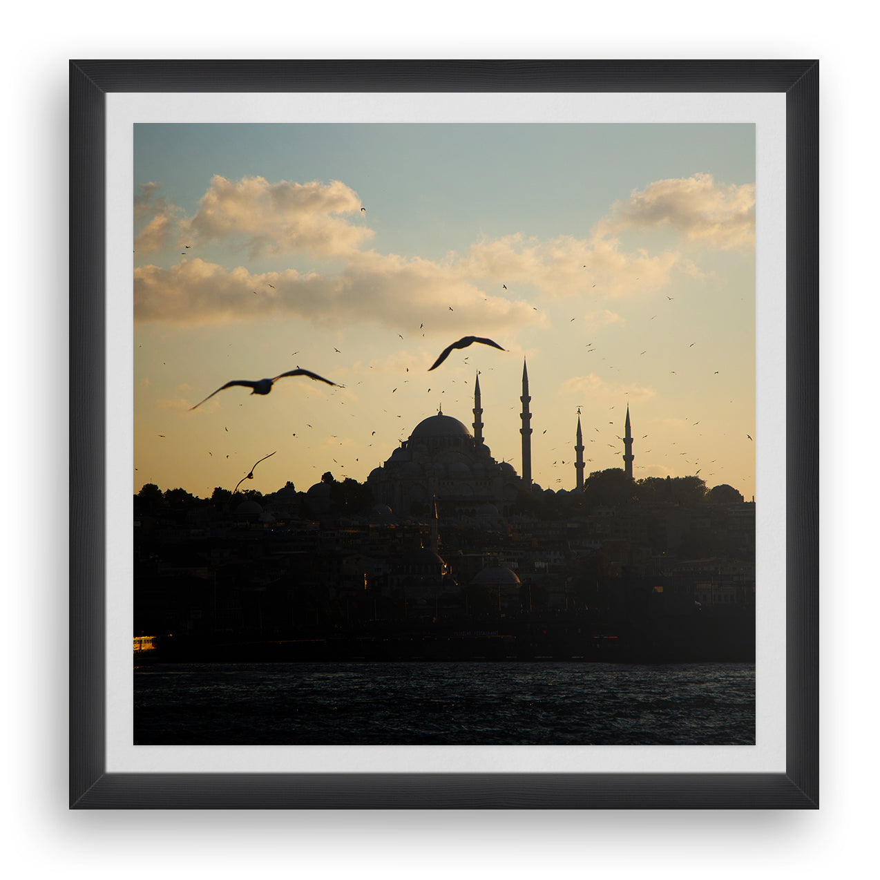 Sunset on Süleymaniye Mosque