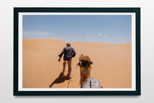 Load image into Gallery viewer, Heading south, Sahara desert, Tunisia