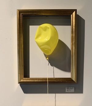 Forever Balloon - Deflated - Yellow