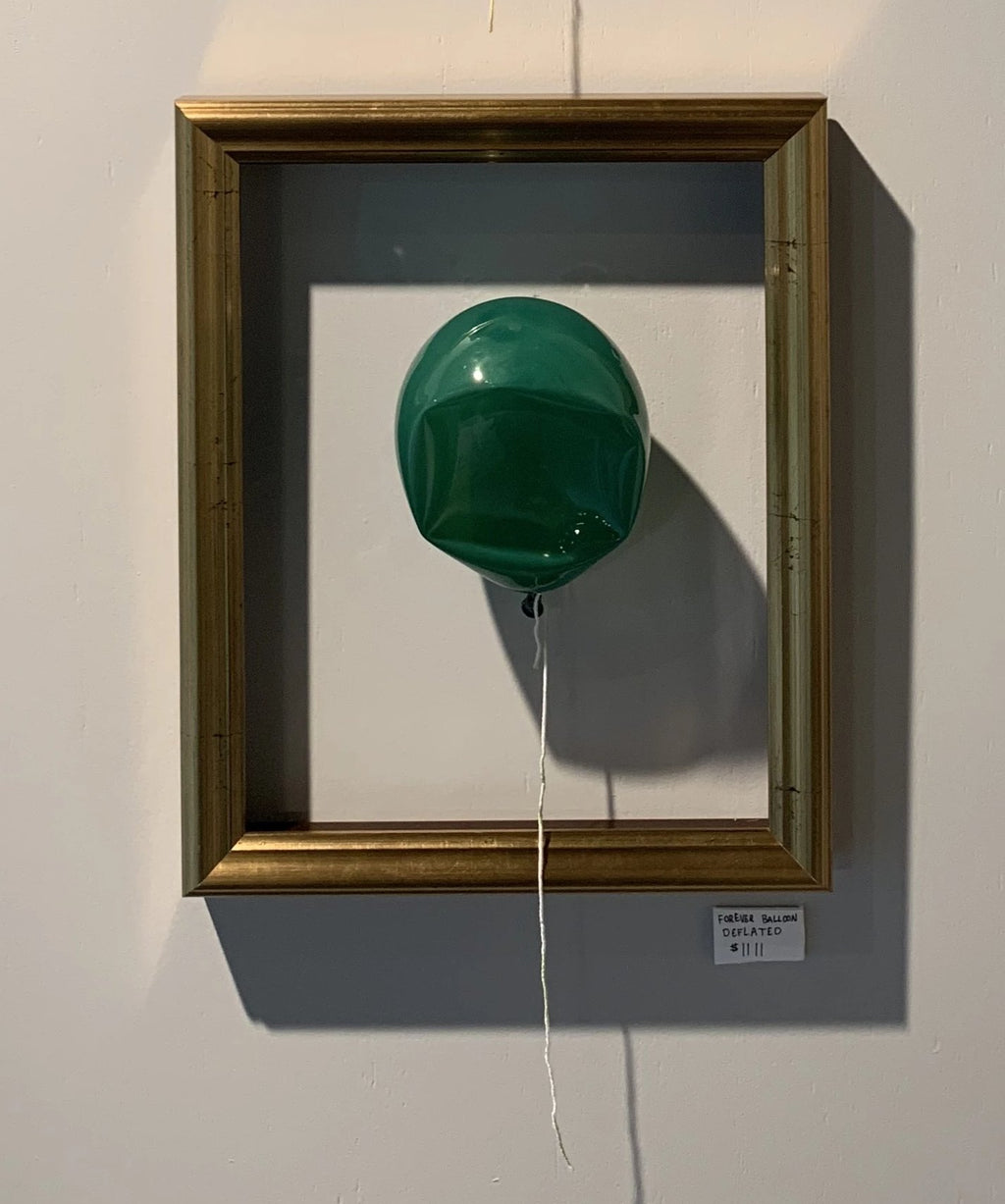 Forever Balloon - Deflated - Green