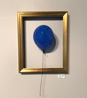 Forever Balloon - Blue Glass 1of1