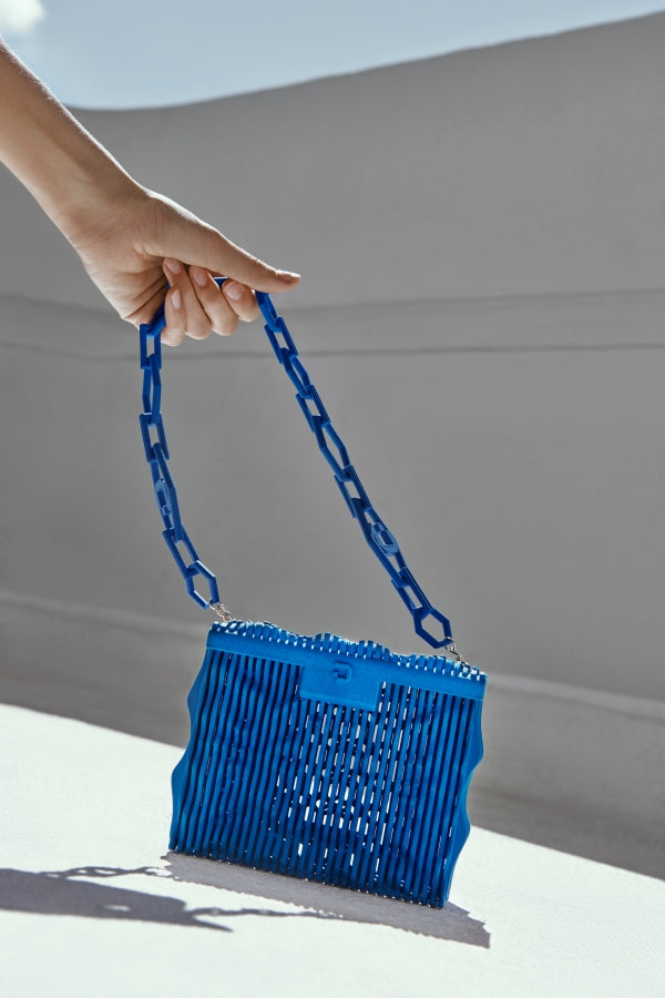Avital Bag {Blue, S-size}