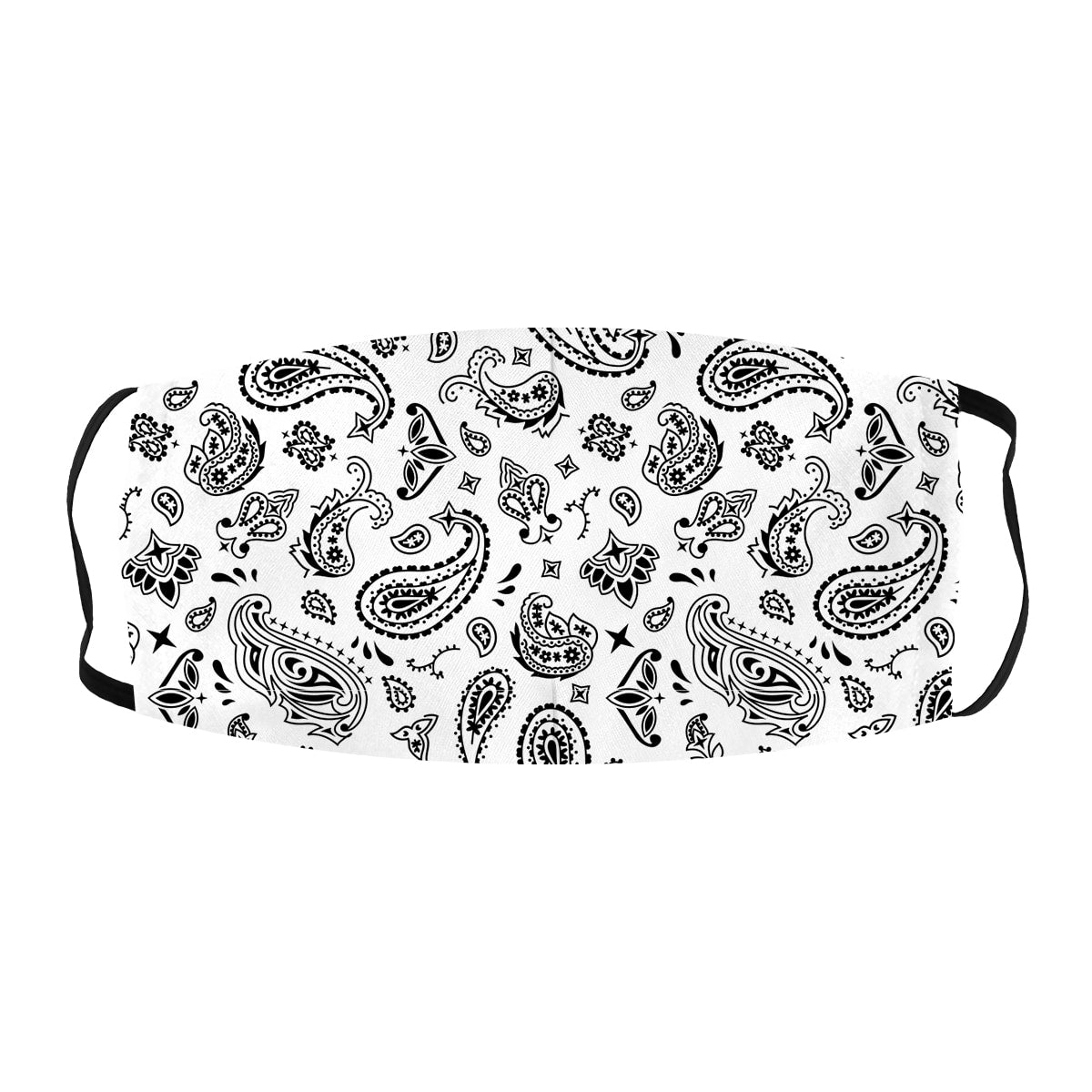 Paisley Bandana Print Cloth Face Mask
