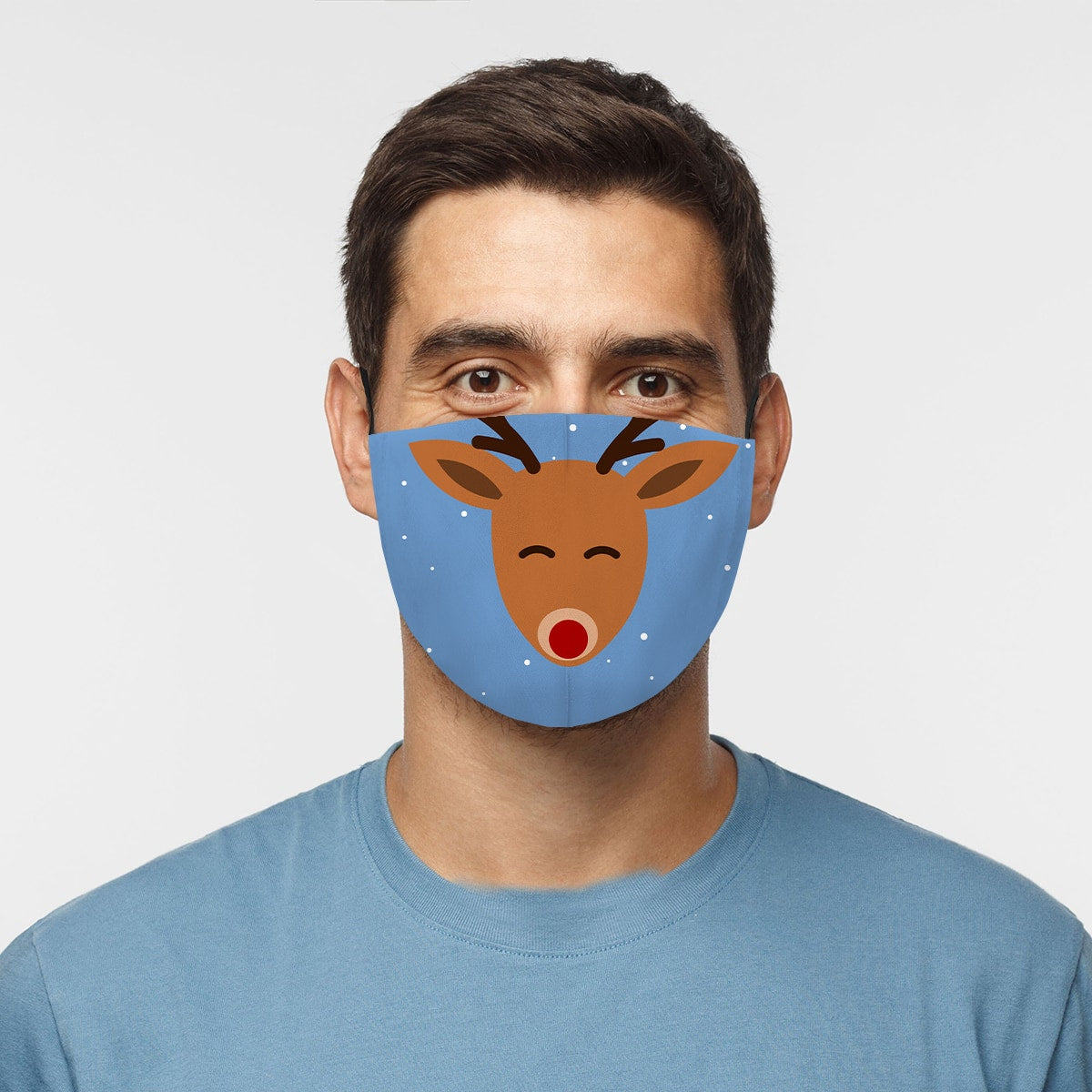 Rudolph Cloth Face Mask