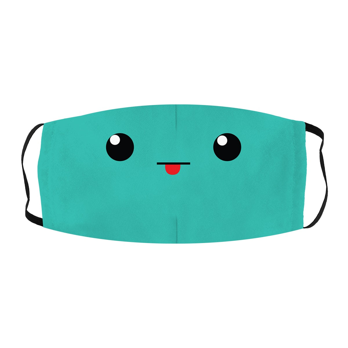 ASTI Face Mask Cute Green Face
