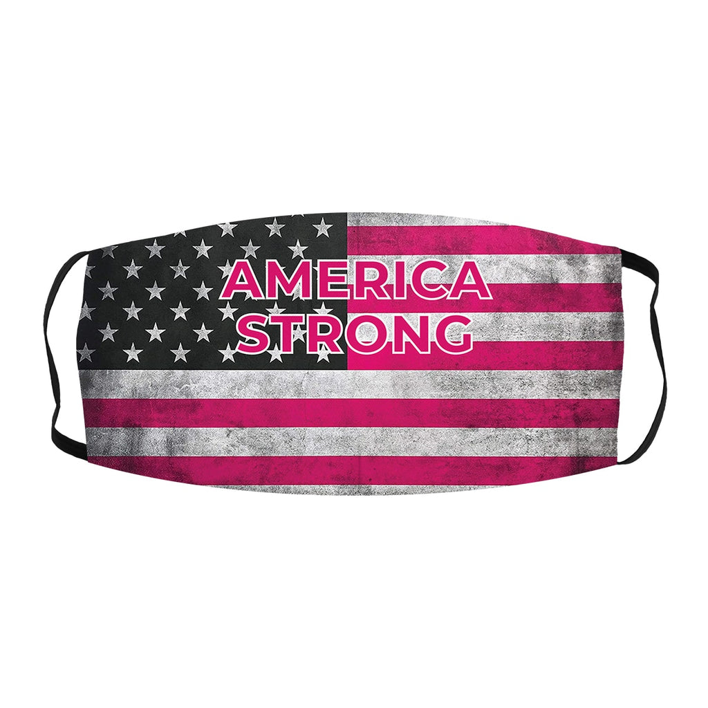 ASTI Face Mask America Strong Pink