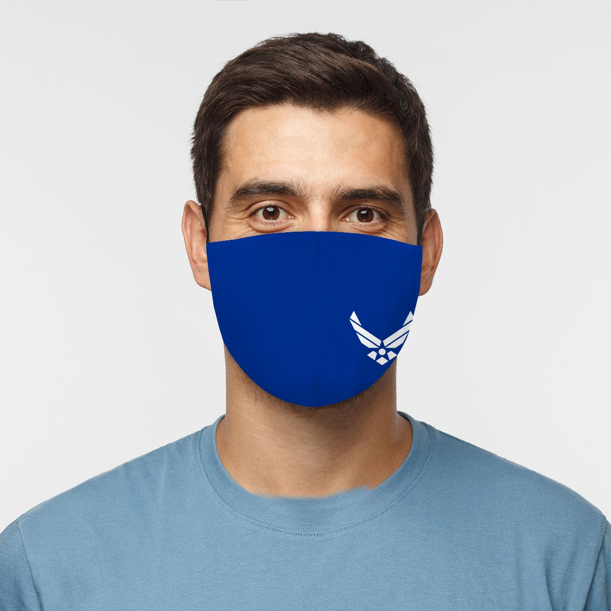 United States Air Force #2 Blue Cloth Face Mask