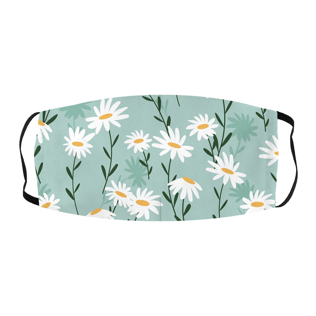 ASTI face Mask Daisy Pattern