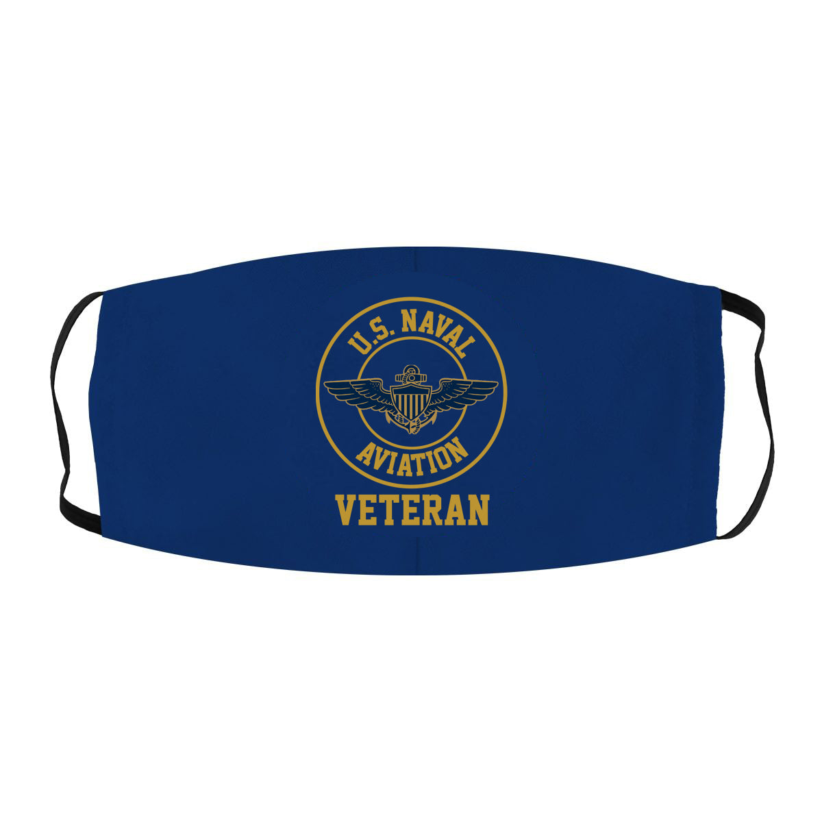 United States Naval Aviation Veteran Cloth Face Mask