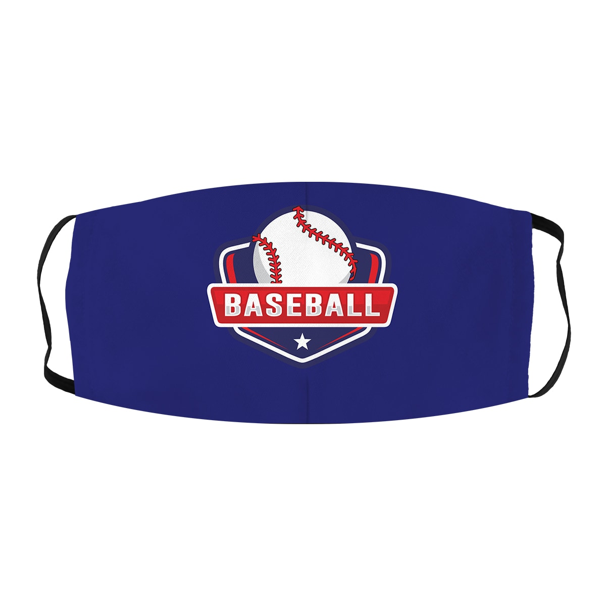 ASTI Face Mask Baseball Blue