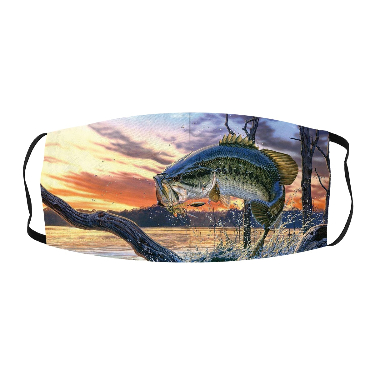 ASTI Face Mask Bass Fishing