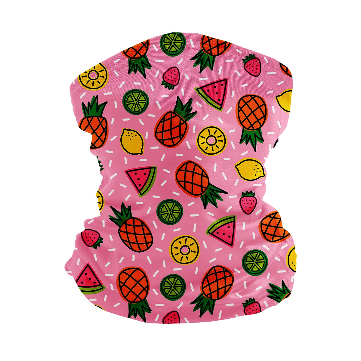 ASTI Neck Gaiter Fruit Sprinkles