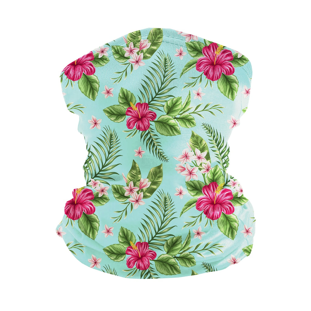 ASTI Neck Gaiter Tropical Hawaiian Print