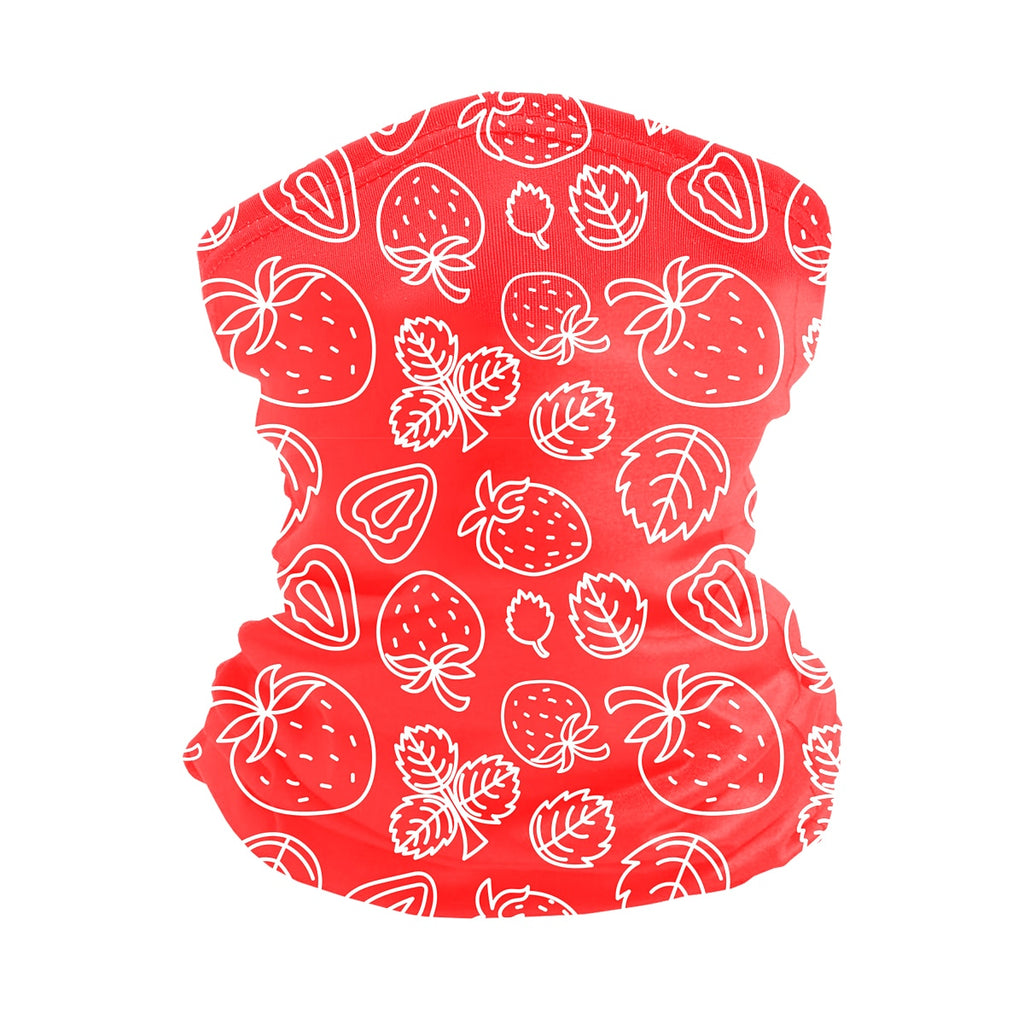 ASTI Neck Gaiter Strawberries 2