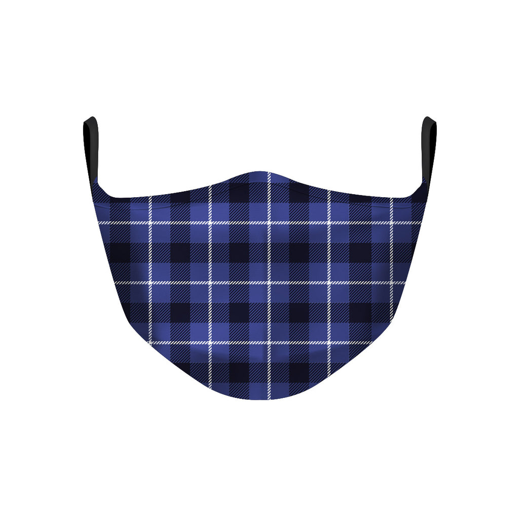 ASTI Face Mask Dark Blue Flannel Cloth Face Mask