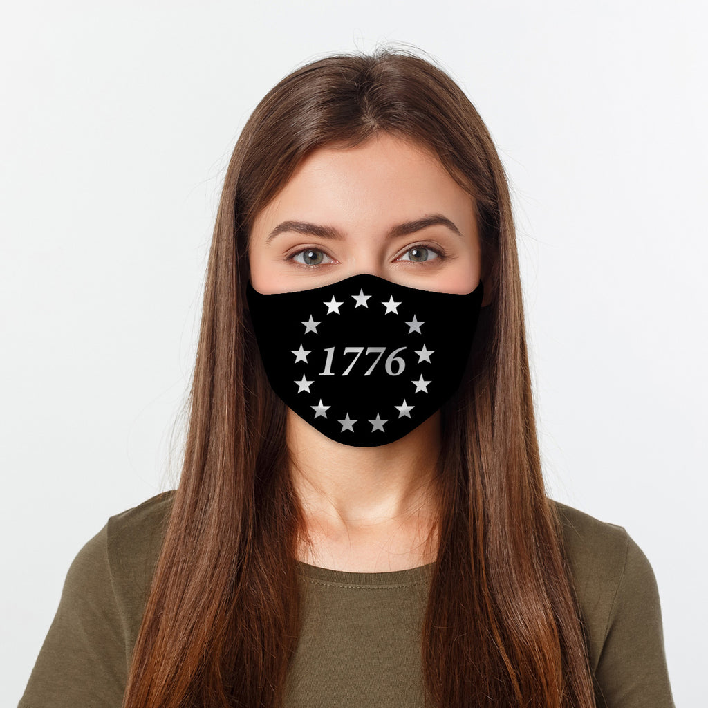 ASTI Face Mask USA Pride Cloth Face Mask