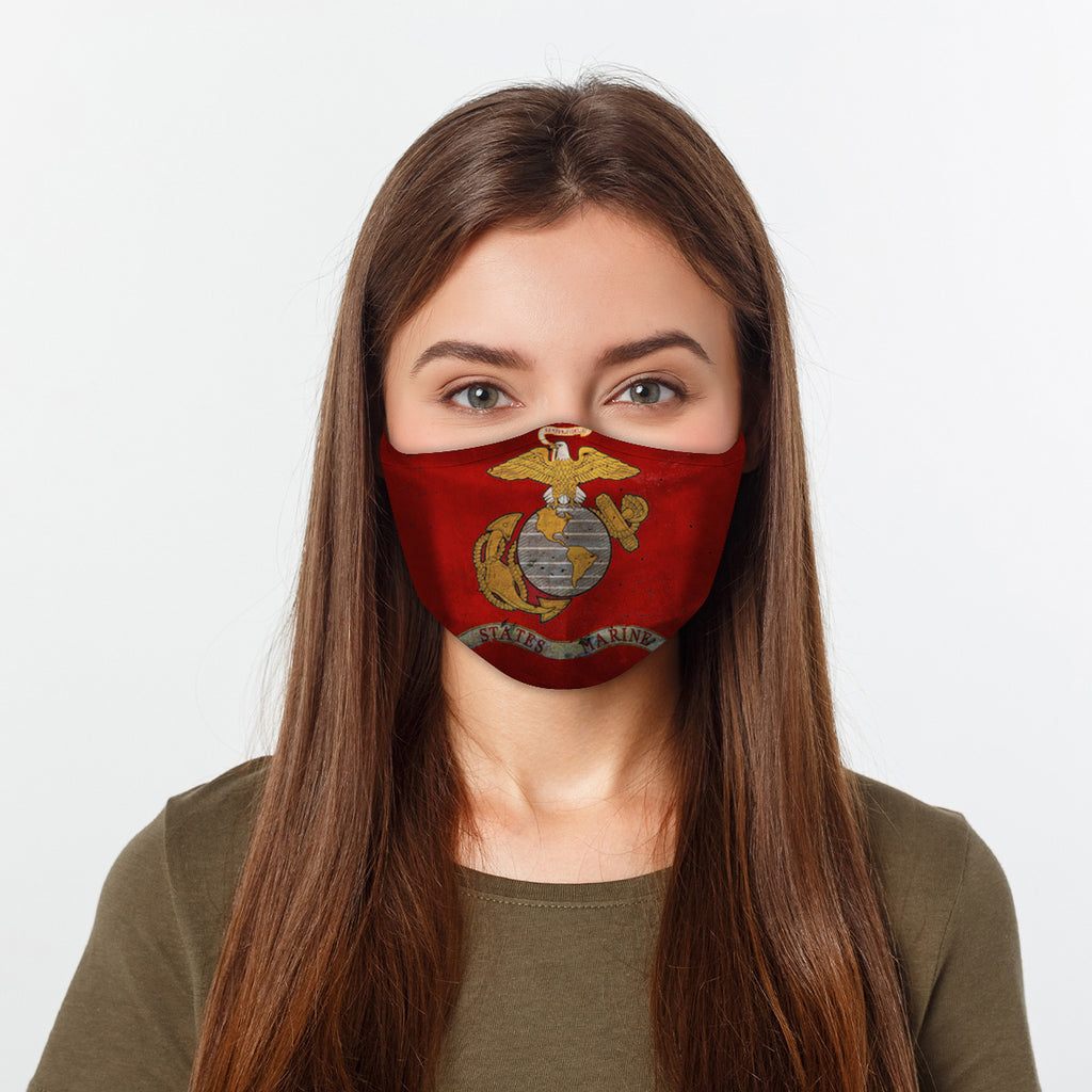 ASTI Face Mask States Marine Cloth Face Mask