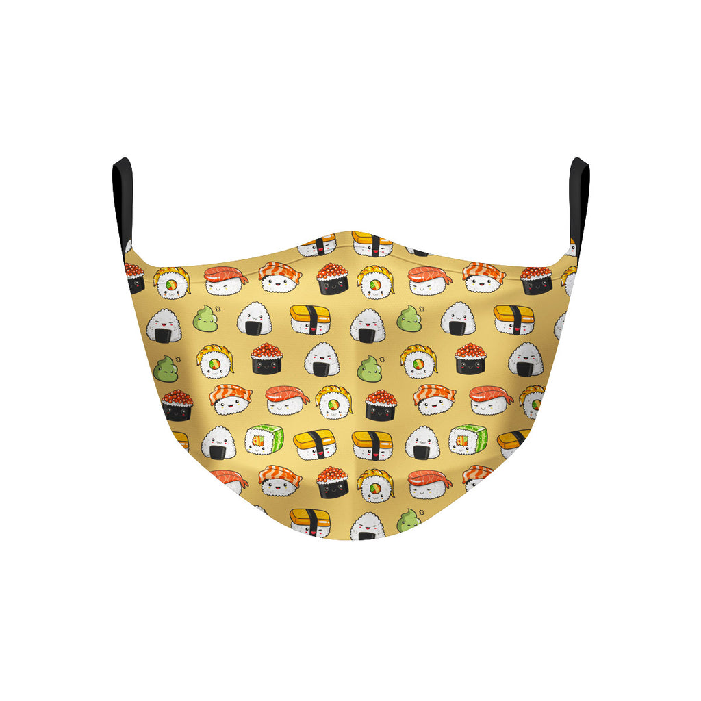ASTI Face Mask Kawaii Sushi Party Cloth Face Mask