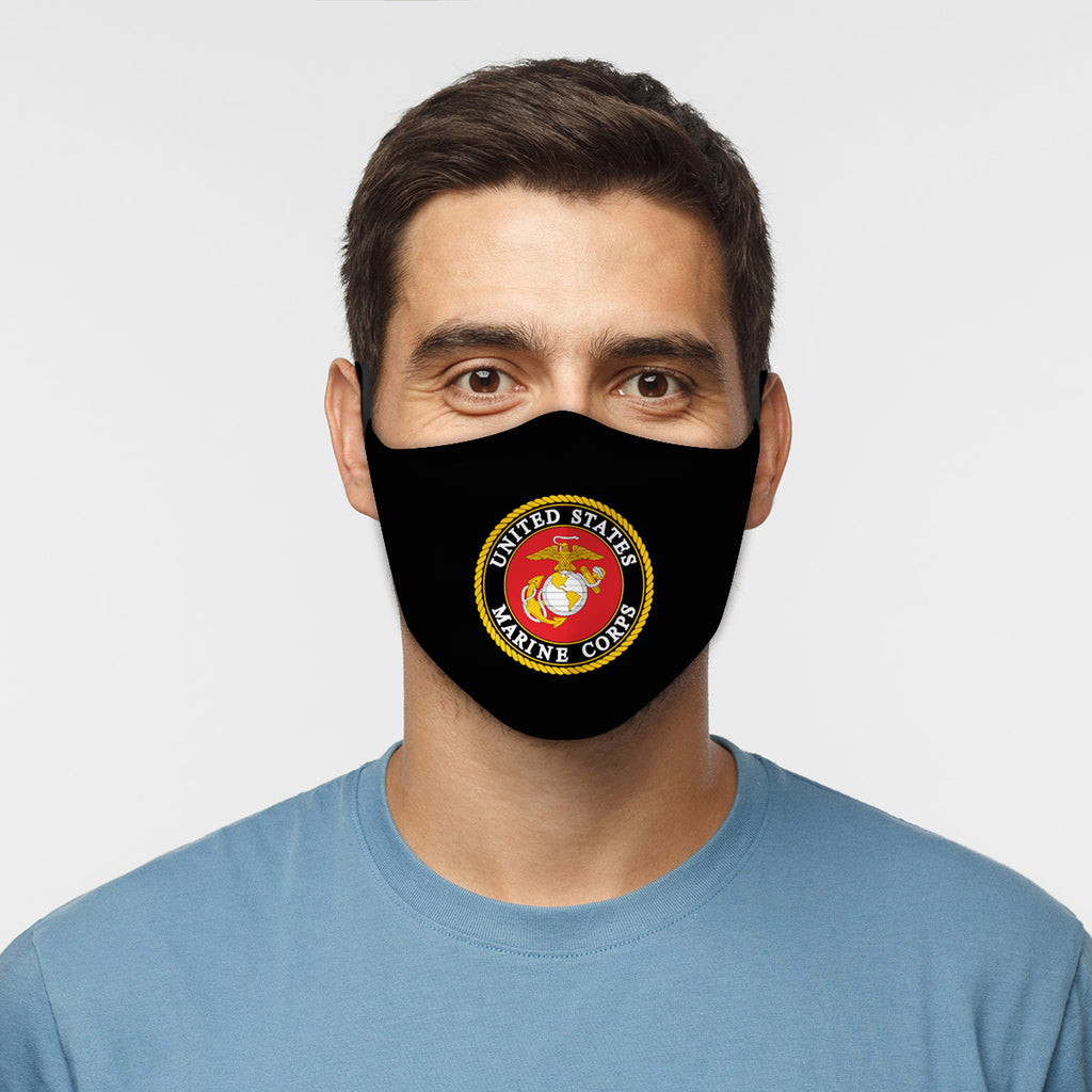 ASTI Face Mask United States Marines #1 Cloth Face Mask
