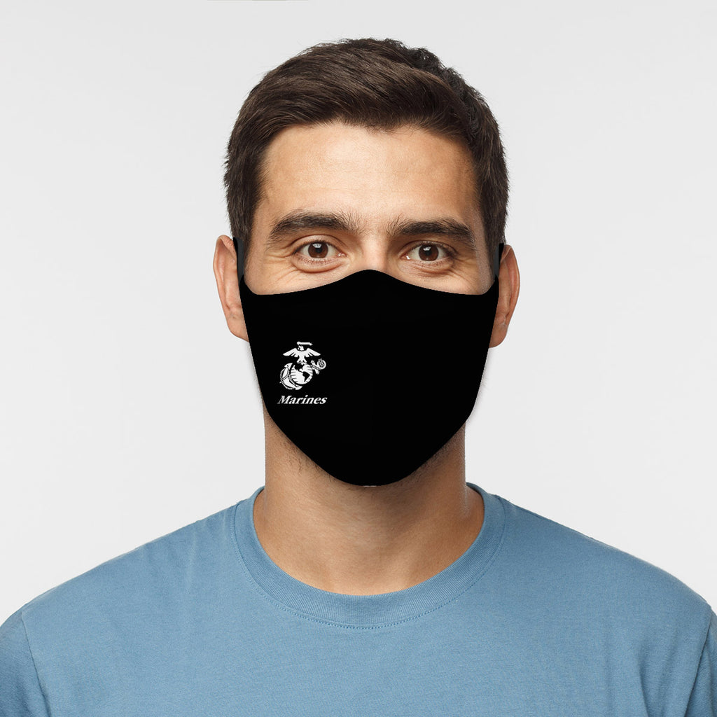 ASTI Face Mask United States Marines #3 Cloth Face Mask