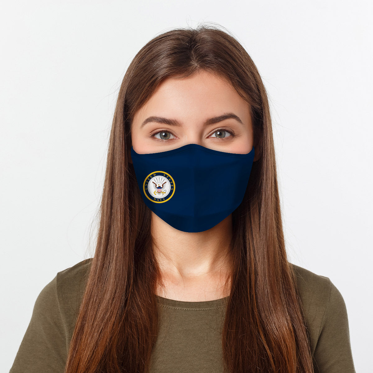 ASTI Face Mask United States Navy #2 Cloth Face Mask