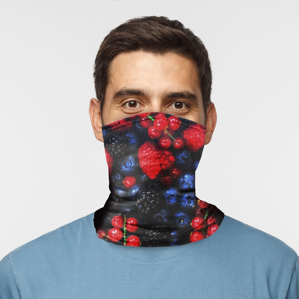 ASTI Neck Gaiter Berry Party Man