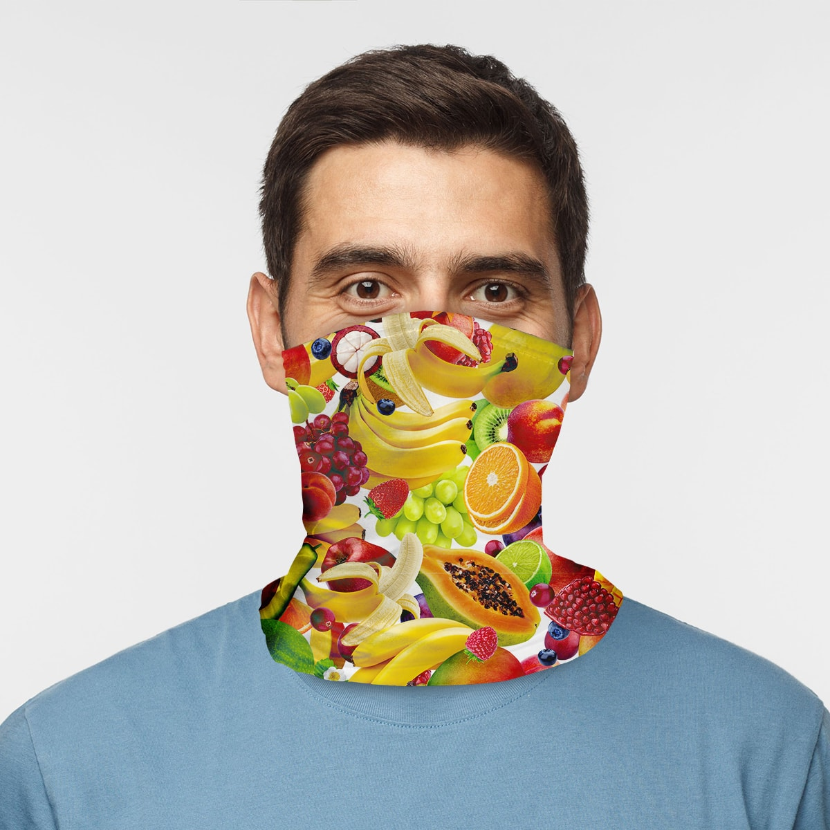 ASTI Neck Gaiter Fruit Bowl Man