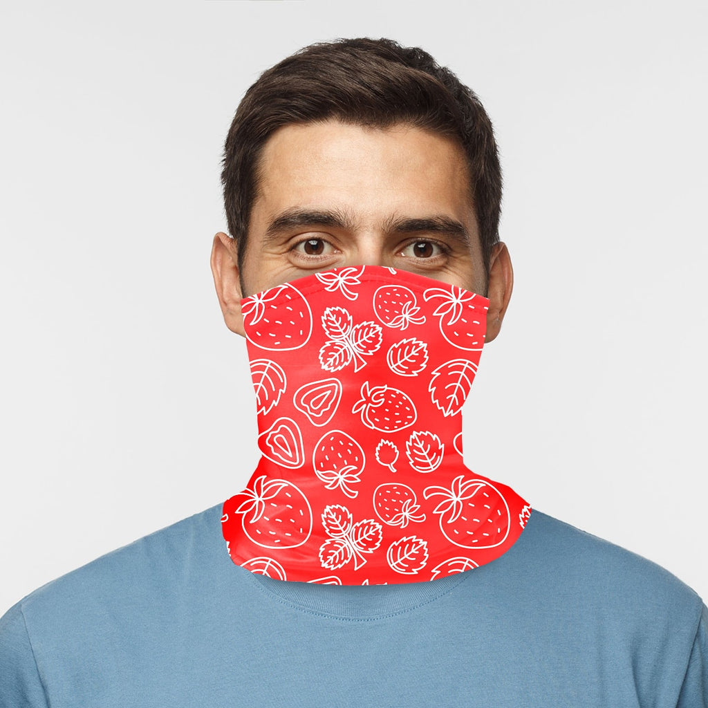 ASTI Neck Gaiter Strawberries 2 Man