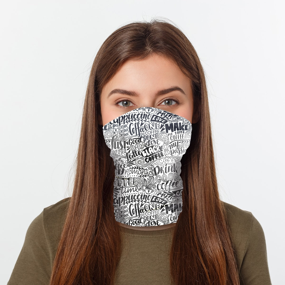 ASTI Neck Gaiter Coffee Time Woman