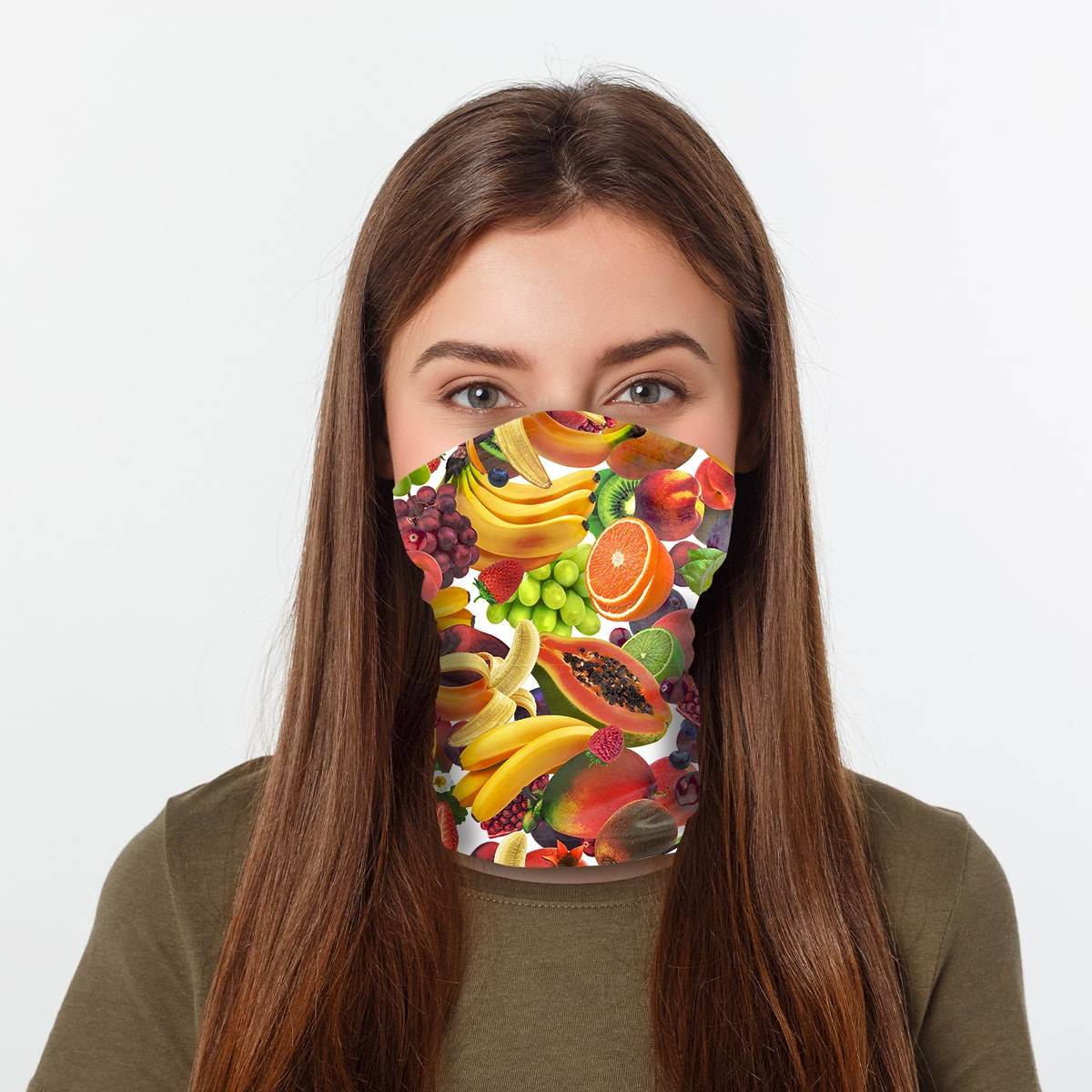 ASTI Neck Gaiter Fruit Bowl Woman