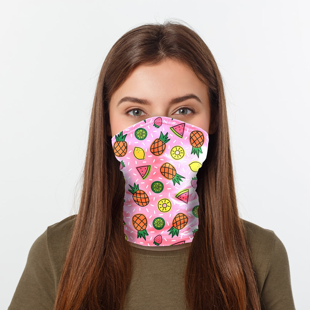 ASTI Neck Gaiter Fruit Sprinkles Woman