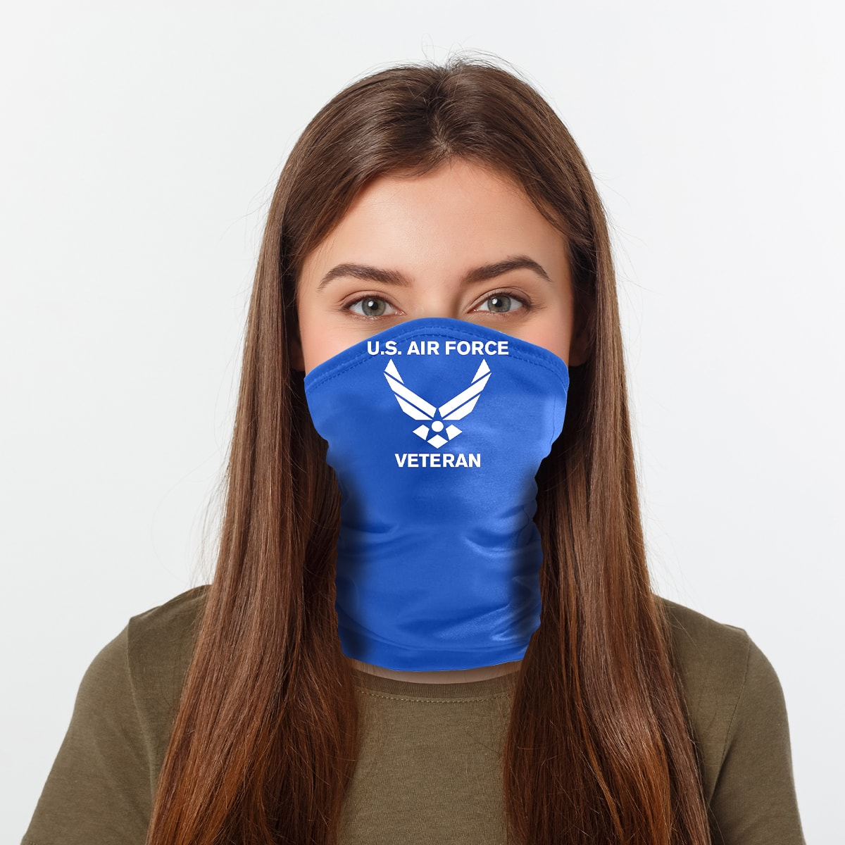ASTI Neck Gaiter United States Air Force Veteran Woman