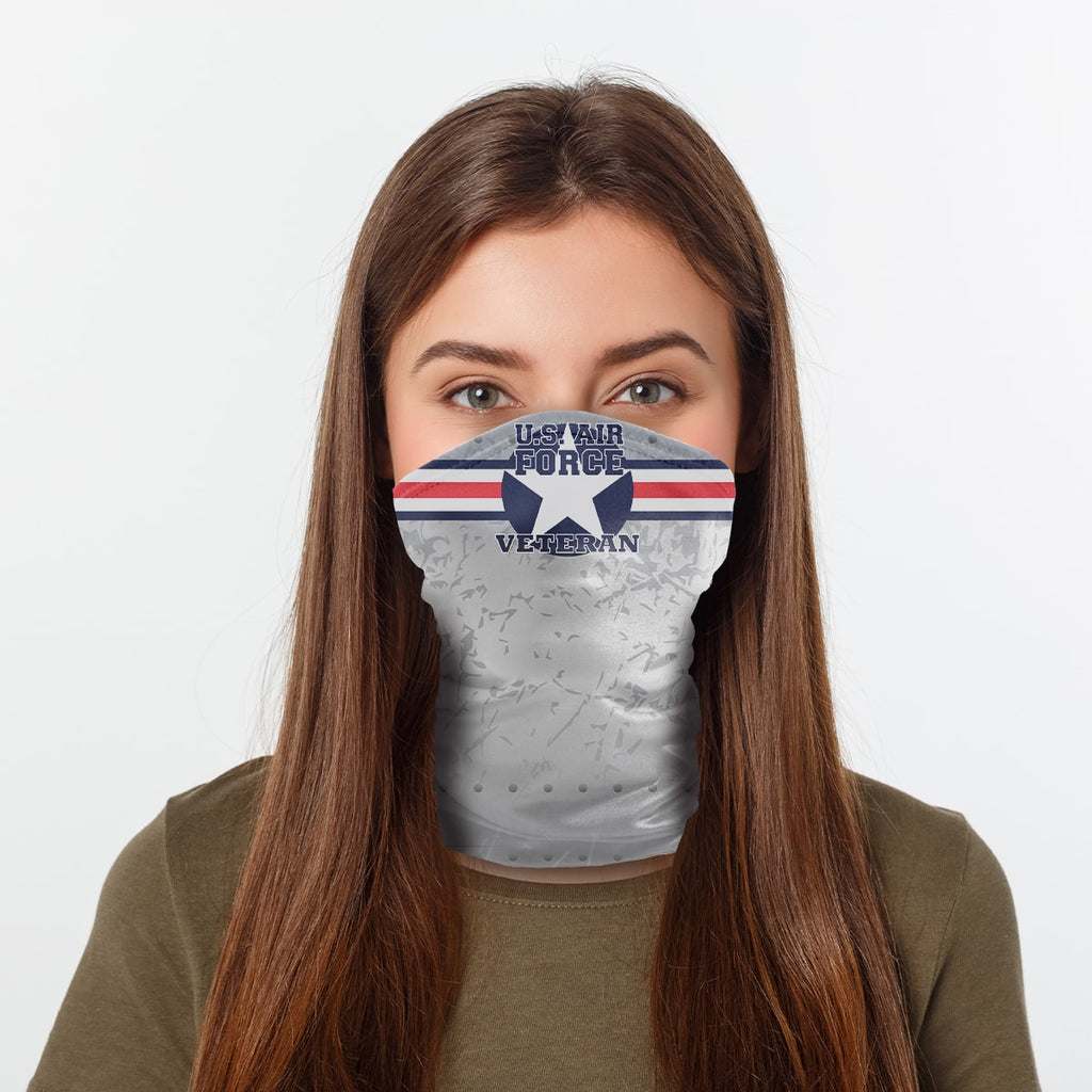 ASTI Neck Gaiter United States Air Force Veteran 2 Woman